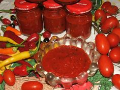Pepper Paste, Goulash, Ketchup, Salsa, Pizza, Stuffed Peppers, Vegetables, Food, Sauces