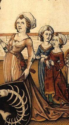 1480 German Housebok dress