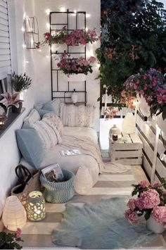 Creating a Home Oasis – Top 10 Small Balcony Ideas - - Not everyone can or wants to live in a house with a garden but everybody needs a retreat from the hustle and bustle of city life. Decor, Interior, Home Furniture, Patio Decor, Home Decor, Apartment Decor, Bedroom Decor, Small Patio Decor, Apartment Balcony Decorating