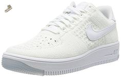 Nike Women's AF1 Flyknit Low (10.5 B(M), White/White) - Nike sneakers for women (*Amazon Partner-Link)