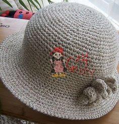 Летняя шляпка крючком спиральными рядами столбиков без накида | Yulya_K - Дневник Yulya_K |