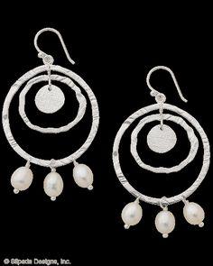 NEW! Pearls of Wisdom Earrings, Earrings - Silpada Designs
