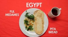 What Do People around the World Eat for Breakfast?