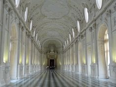Galleria Grande - Reggia di Venaria Reale, Torino | Dan | Flickr Piedmont Italy, Hardwood Floors, Flooring, Torino, Reggio, Grande, Explore, Photography, Wood Floor Tiles