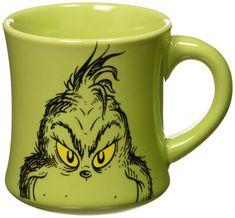 Dr. Seuss' The Grinch Who Stole Christmas coffee mug.