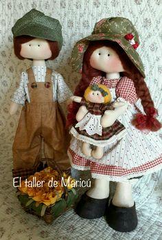Muñeca Rusa. El taller de Maricú Baby Quilts, Doll Clothes, Teddy Bear, Cute, Crafts, Animals, Rag Dolls, Handmade Rag Dolls, Fabric Dolls