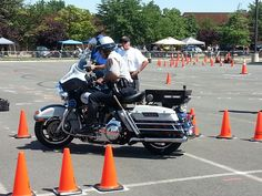 2013 Police Rodeo-Gus P, one time MRC instructor slow riding in the No Name course Fairfax County, One Time, No Name, Cops, Rodeo, Police, Men, Guys, Law Enforcement