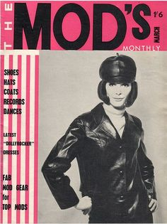 "newmanology: "" The Mod's Monthly, March 1964 Source: Tin Trunk "" Sixties Fashion, Mod Fashion, Vintage Fashion, Gothic Fashion, Style Fashion, Mod Look, Mod Girl, 1960s Dresses, Musica"