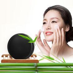 1 Pz carbone Di Bambù handmade sapone cura della pelle sbiancante naturale Della Pelle sapone rimozione di comedone trattamento dell'acne controllo del petrolio