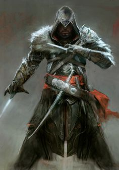 Assassin's Creed: Revelations. Love the Mongolian fur on the shoulders.