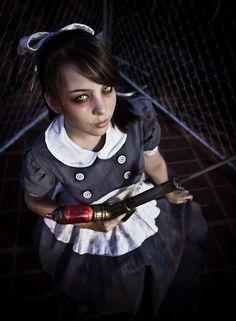 Amazing Bioshock Little Sister Cosplay Gallery - Monika Lee
