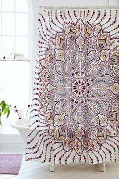 Black And White Raindrop Shower Curtain Bath Pinterest