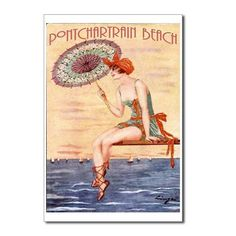 Old Pontchartrain Beach post card
