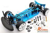 1/10 RC EP XR 4WD On Road Belt Drive Racing Car Aluminum Chassis Rc Drift Cars, Belt Drive, Racing, Running, Lace