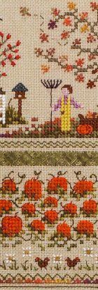 The Victoria Sampler - Pumpkin Patch