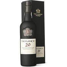 TAYLORS 20 YO Tawny 750ml  wine / vino Portugal