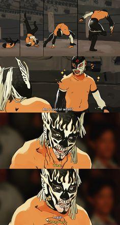 Japanese Wrestling, Japan Pro Wrestling, El Desperado, Band Posters, Comic Art, Character Design, Animation, Fan Art, Comics