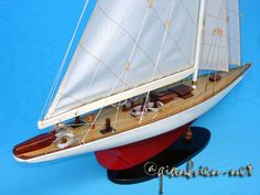 Sail boat model Ranger, America's Cup Collection