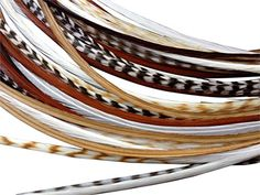 Feather Hair Extensions 100 Real Rooster Feathers 10 Long Thin Loose Individual Feathers By Feather Lily * You can get more details by clicking on the image. (This is an affiliate link) Feather Extensions, Hair Extensions, Rooster Feathers, Feather Hair, Feathered Hairstyles, Lily, Image, Weave Hair Extensions, Extensions Hair