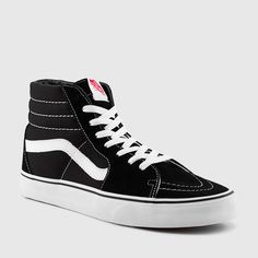 MEN'S SK8 HI (BLACK | BLACK | WHITE) [VN000D5IB8C] - $49.99 : Vans Shop, Vans Shop in California