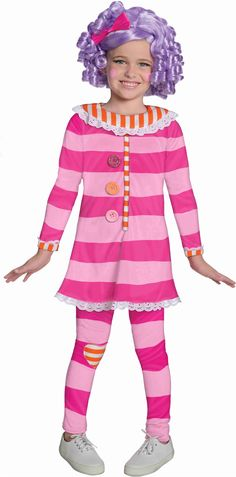 Lalaloopsy Pillow Featherbed Deluxe Kids Costume | Totally Costumes