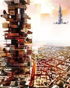 2010 Skyscraper Competition - Vertical Street / City