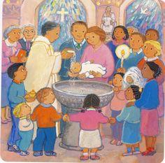 Eveil à la foi Antibes: baptême