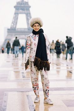 Vanessa Jackman: Paris Fashion Week AW 2014....Eva