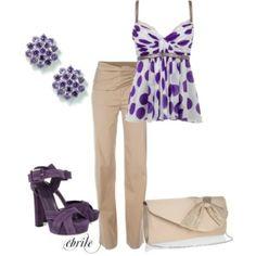 Purple Polka Dots by reva