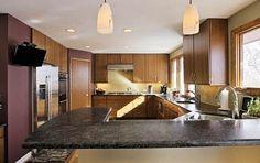 Corner Kitchen Pantry Cabinet for Full Kitchen Layout