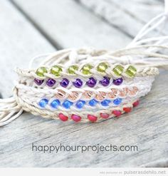 Pulsera deseos o wish bracelet