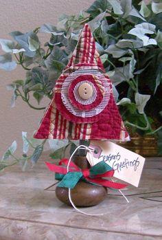 Christmas decoration from repurposed vintage door knob Home Decor
