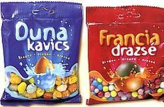 Hungarian sweets - Duna kavics, Francia drazsé Illustrations And Posters, Hungary, Travel Ideas, Childhood Memories, Food Porn, Sweets, Places, Image, Dune