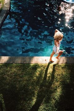 Capturing childhood happiness in the summer. Alex Prager