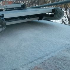Багажник после установки. Установка 10 минут.#багажники #автомобили#канистры#рейлинги#roofrack