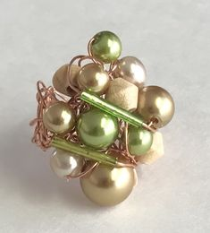 Bagues Mix perles Pearl Earrings, Jewelry, Ring, Beads, Pearl Studs, Jewlery, Jewerly, Schmuck, Jewels