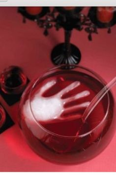 How to Make a Hand Ice Cube Fill a surgical glove with water and freeze it..when its frozen it makes a hand ice cube