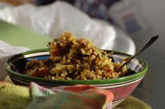 Magadra Rice with Lentils