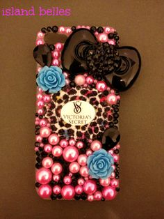 Victorias Secret iPhone 5 Case by IslandBelles on Etsy, $25.00