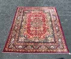 "Hand Woven Keshmar Rug or Carpet, 9' 5"" x 12' 8"""