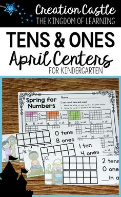 Working with teen numbers? This base 10 center will keep your kindergarten students engaged during their math stations.