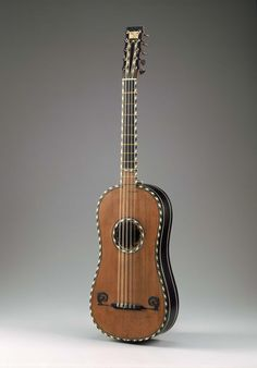Nicolas Voboam, Guitar, 1680. Paris. | Museum of Fine Arts, Boston