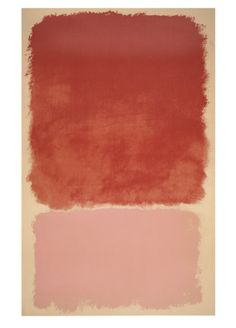 Untitled, 1968 (Red over Pink) Serigraph by Mark Rothko at Art.com