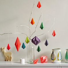 Origami Christmas by Villa Appelzee