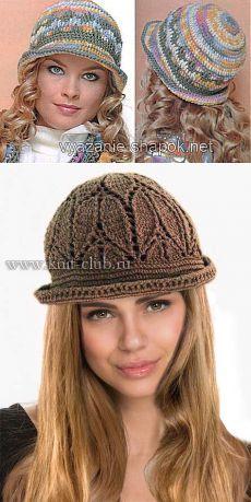 Поиск на Постиле: вязаные шляпки