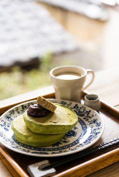 Pancakes #matcha #amazon #getamatcha http://www.amazon.com/MATCHA-Green-Tea-Powder-Antioxidants/dp/B00NYYVWFQ/ref=benefits-infographics