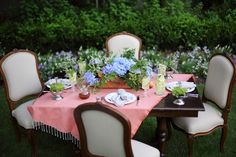 5 Tips for throwing a Garden Party this summer! Alfresco Dining