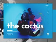NOSKTLS - Digital Agency landing page concept #4