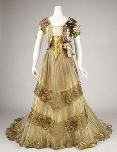 Ball Gown 1900 Metropolitan Museum of Art