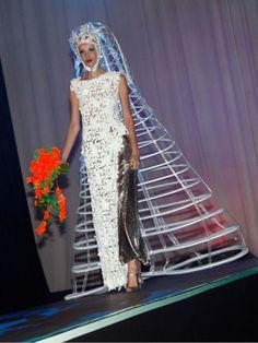 Strange Wedding Dresses - Arabia Weddings